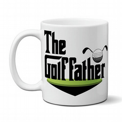 The Golf Father Coffee Tea Mug Funny Gift For Golfers Dad Men Father