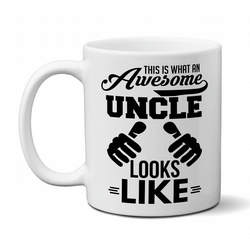 Personliased This is What An Awesome Uncle Looks Like Mug Gift Idea