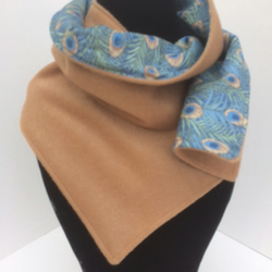 Cashmere & wool ladies Liberty lined scarf
