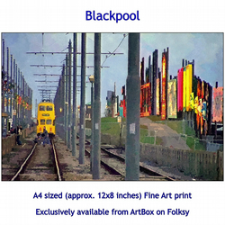 Blackpool - Quality Fine Art print