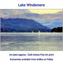 Lake Windemere - Quality Fine Art Print