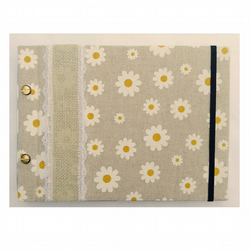 Daisy Chain Photo Album B5 Hand Made Refillable