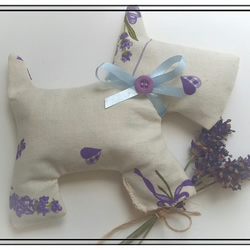 Homemade Lavender Sachet with added Essential Oils perfect for under pillow