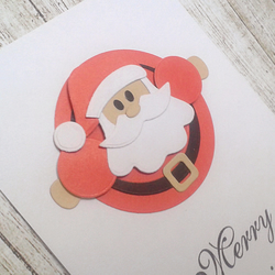 Funny Santa Claus card