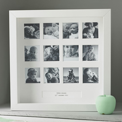 Personalised My First Year Square Frame