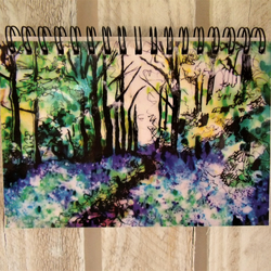 Bluebell Wood Notebook