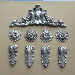 Set of decorative mouldings shabby chic embellishsments