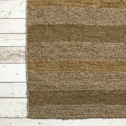60x120 cm. 2' x 4' Brown rug Handwoven Up-cycled & Washable rug