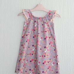 Flutter sleeve bunny dress