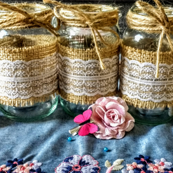 Vintage Tea-Light Jars