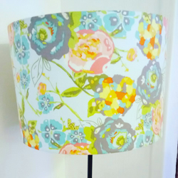 Floral Bee Lampshade 30cm
