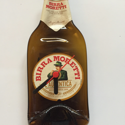 Beer bottle clock, Birra Moretti