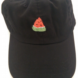 Handmade Watermelon Slice Cap