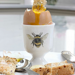 Bumble Bee Egg Cup for Boiled Egg & Toast Soldiers