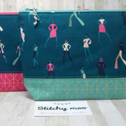 Look book zipper pouch