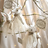 Snow Deer Hanging Christmas Decoration