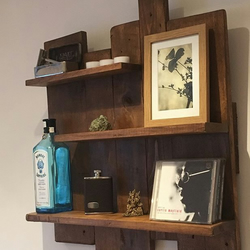 Wooden Pallet shelving