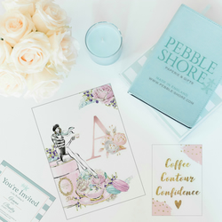 Stationery Subscription Service, Happy Mail - Pebble Mail VIP- 6 Month's