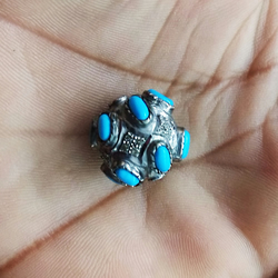 925 Sterling Silver Gemstone Jewelry Turquoise Gemstone Finding