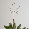 Wire Star Christmas Tree Topper