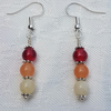 Gorgeous Red Spectrum Earrings No1
