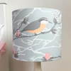 Nuthatch and Larch lampshade