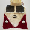 Red Knitted Camper Van Hot Water Bottle Cover