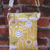 A Shoulder, Tote, Messenger, Travel, Cross Body Bag In Orla Kiely Yellow Fabric
