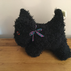 Doorstop, Scottie Doorstop, Black