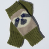 Sloth Knit Fingerless Gloves