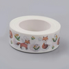 Fox Pattern Washi Tape, Decorative Tape 15mm, 10m reel, Bullet Journals, Cards